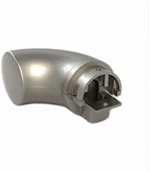 Matte Nickel Finish End Cap for Promenaid Handrail System Only Clip in Place with Set Screw