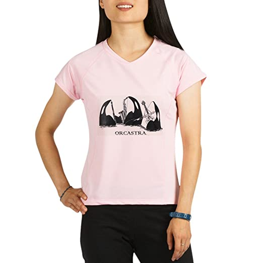 55377ac0cb88 Amazon.com  CafePress - ORCASTRA Trio - Womens Athletic T-Shirt ...
