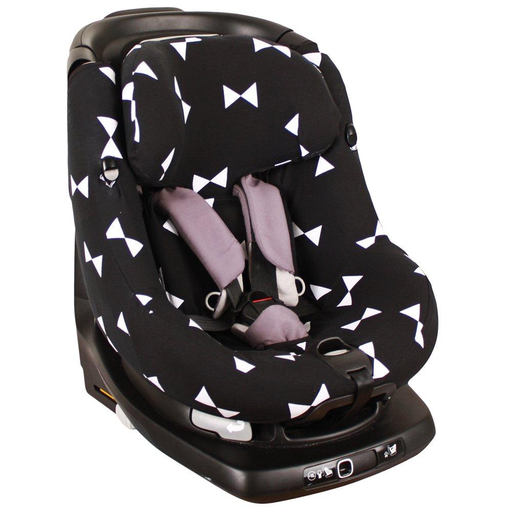 Housse de siège auto pour Maxi-Cosi AxissFix – Noir avec arc ♥ UKJE.FR