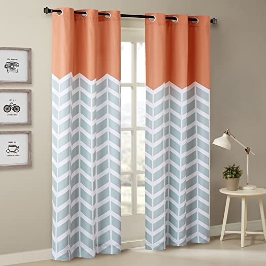 Intelligent Design Alex Chevron Curtain