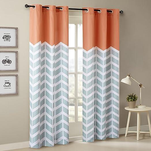 Intelligent Design Alex Chevron Curtain