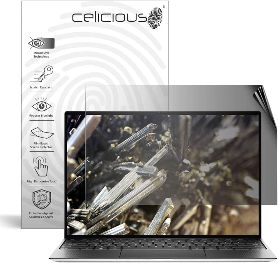 Celicious Impact Anti-Shock Shatterproof Screen Protector Film Compatible with Dell XPS 13 9300 FHD