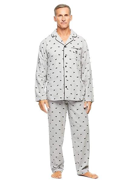 Amazon.com: Haggar – Juego de 2 piezas de pijama para hombre ...