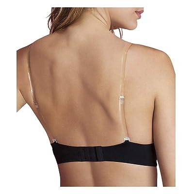3Pcs Lady Nonslip Elastic Adjustable Band Bra Strap Holder Strap Racer Back Clip
