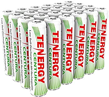 Tenergy Centura AAA 800mAh 24 Pk. Rechargeable Batteries