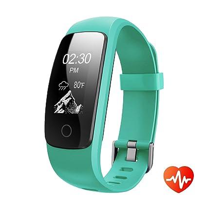 Amazon.com: Fitness Tracker con podómetro monitor Heart Rate ...