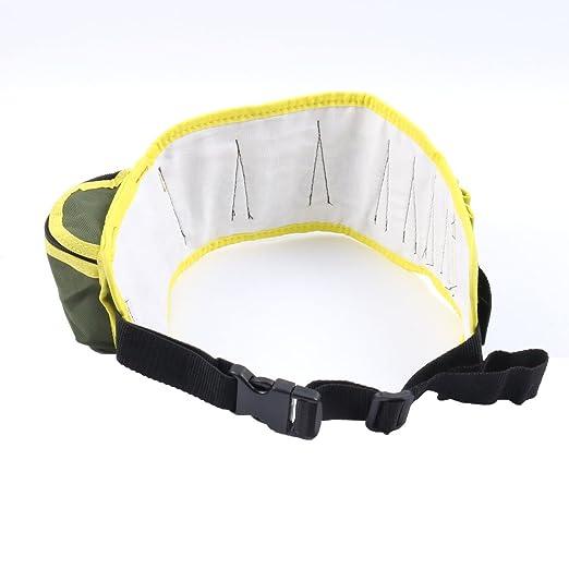 eDealMax electricista 8 de bolsillo de la lona de los alicates de tijera Herramientas de trabajo eléctrico de la correa del sostenedor del organizador de la ...