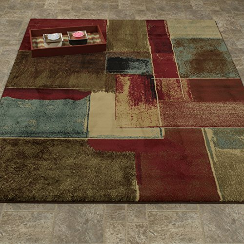 Rugs 100 Color Multi - Casamode EL5045-5X7 Area Rug, 5'3