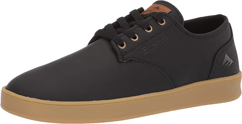 Emerica The Romero Laced Sneakers Herren Schwarz Glattleder