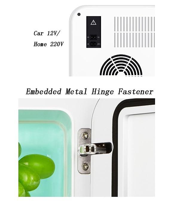 LIANJUN Portátil Cooler Coolbox Nevera Rígida eléctrico Refrigeración Mini refrigerador del coche Refrigerador fresco de la caja fresca Refrigerador ...