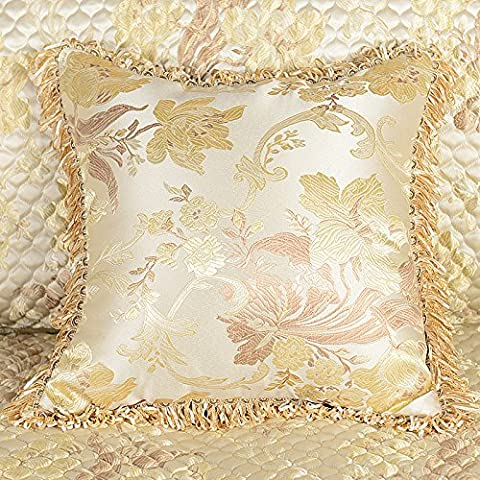 XXCWN-El Luxor Hotel sofa bed pillow pillow cushion,50X50 pillowcase pillow core,Light champagne - Luxor Cushion