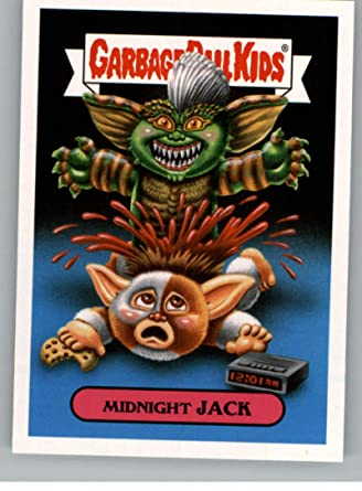 0799e4c94aa 2018 Topps Garbage Pail Kids Oh The Horror-ible 80s Horror Stickers B  6B  MIDNIGHT JACK Peelable Collectible Trading Sticker Card at Amazon s  Entertainment ...