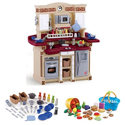 Amazon Com Step2 Classic Lifestyle Party Time Kitchen With 33