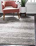 Unique Loom Del Mar Collection Contemporary Transitional Gray Area Rug (3′ x 5′) Review