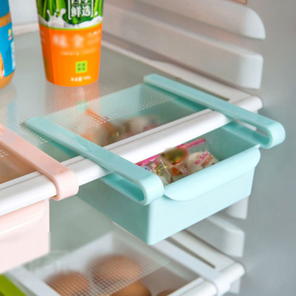 Amazon.com: Plastic Kitchen Refrigerator Fridge Storage Rack Freezer ...