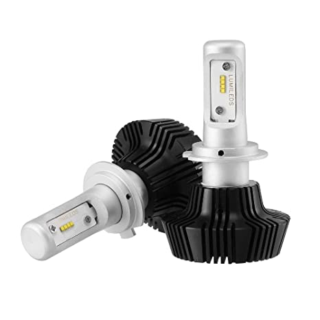 FEZZ Bombillas LED Coche Faros H7 Kits de conversión Philips Chips 50W 8000LM 6500K IP65