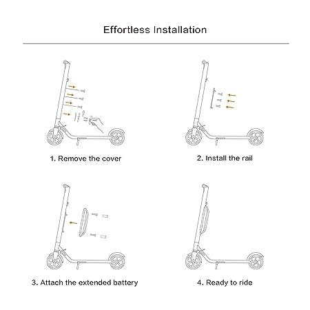 Segway Ninebot External Battery Pack for ES1/ES2/ES4 Electric Kick Scooters
