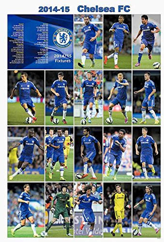 Chelsea F.C. 2014 - 2015 Football Soccer Sport Wall Decoration Poster 5001