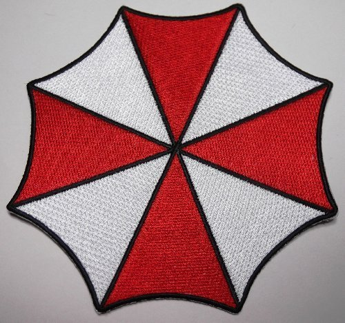 RESIDENT EVIL Large Sz UMBRELLA Corporation Logo PATCH