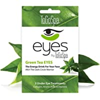 To Go Spa Green Tea Eyes Treatment for Unisex - 3 Pair Eye Mask, 45.36 grams
