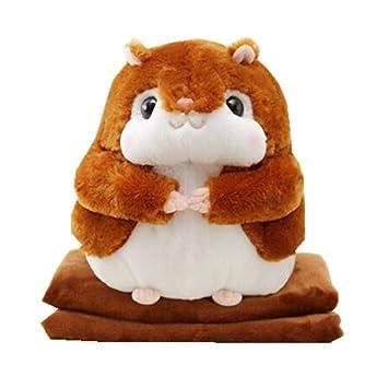 Amazon.com: Cute Squirrel almohada Coral Manta Manta ...