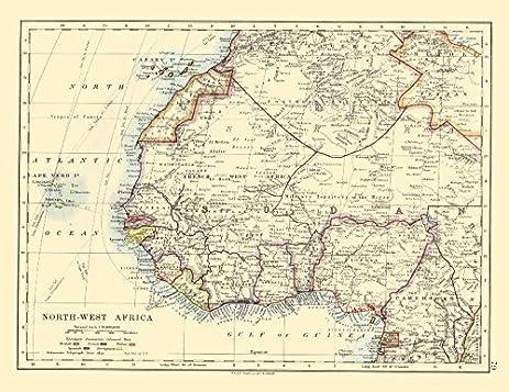 Amazoncom COLONIALFRENCH WEST AFRICA Spanish Guinea Rio de