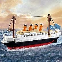 xlpace 194 PCS DIY Titanic Ship Building Blocks Kids Toy Gift