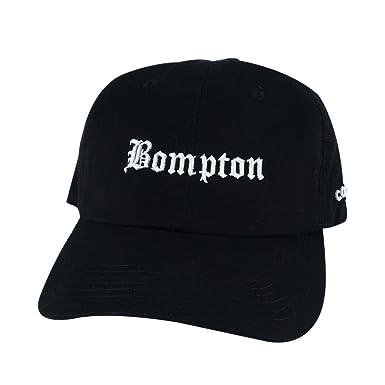 463df244106c7 Retro NWA 3D Bompton Old English Unstructured Baseball Hat Dad Cap ...
