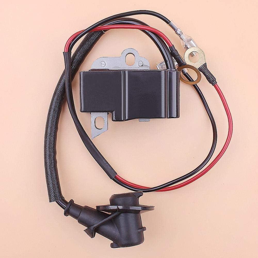 Tiempo Beixi Bobina de Encendido Compatible con Stihl MS361 MS341 MS 361 341 Motosierra sustituir Parte 1135 400 1300