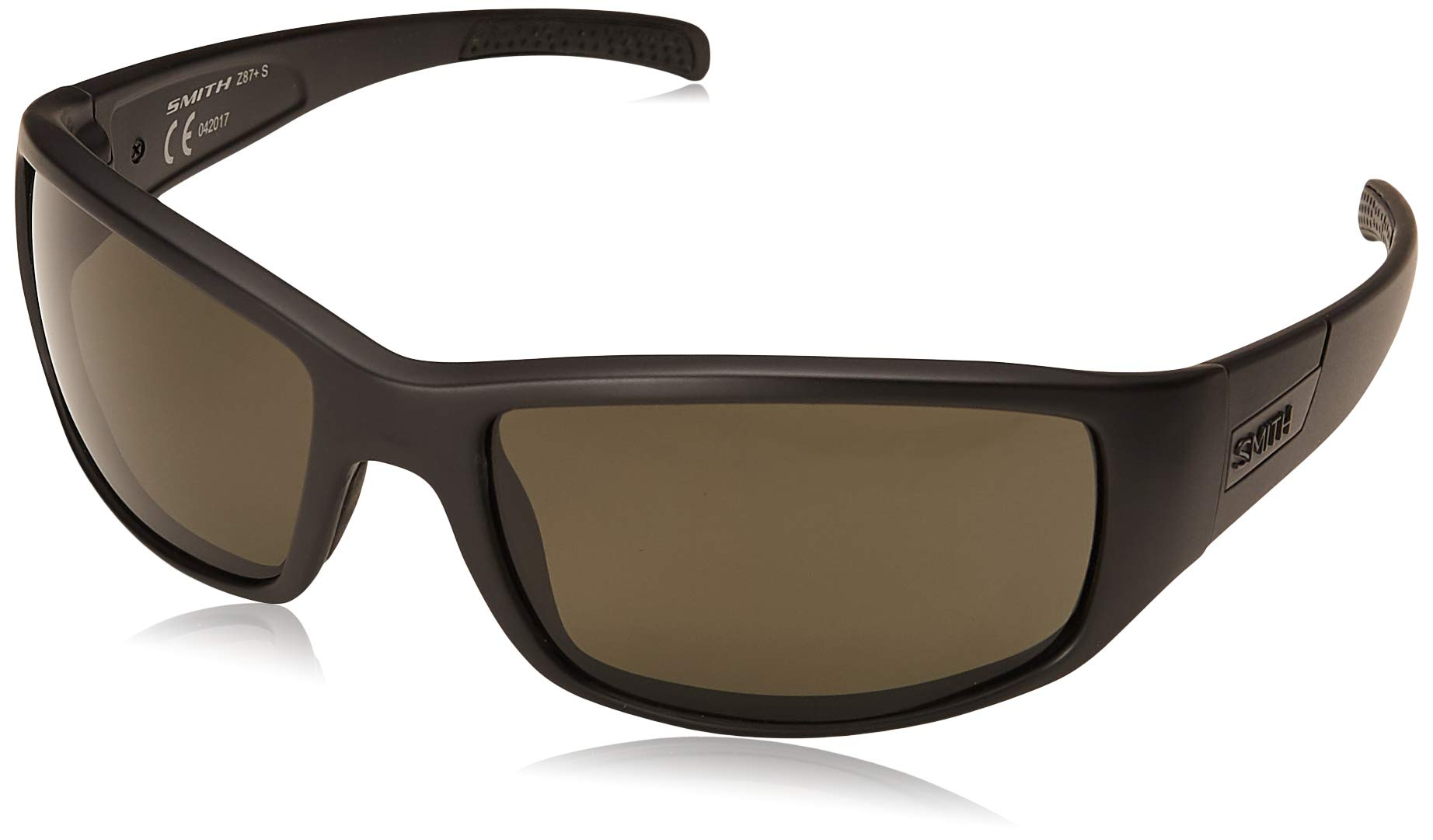 Smith Optics Elite Prospect Tactical Sunglass, Polarized Gray, Black by Smith Optics