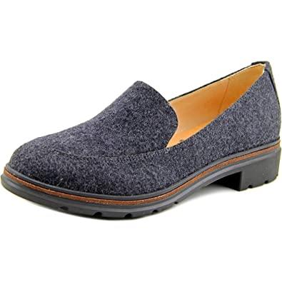 d77ea38af23 Dr. Scholl s Women s Hollie - Original Collection Brushed Nickel Wool  Fabric Loafer ...