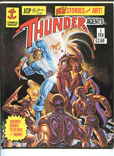 Jcp Features The Thunder Agents  1 1981 Archie Simon   Kirby Neal Adams Vf