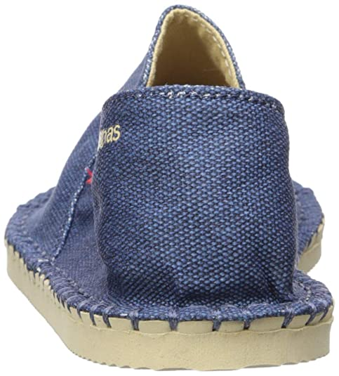 Amazon.com | Havaianas Kids Origine Yacht Cal Espadrille, Navy Blue, 31/32 BR (2 M US Little Kid) | Sandals