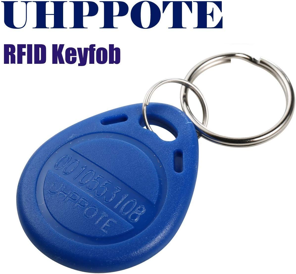 Proximity Em4100 125khz Rfid Em-id Card Tag Token Key Chain Keyfob Read Only Color Blue (pack Of 10) Home Improvement