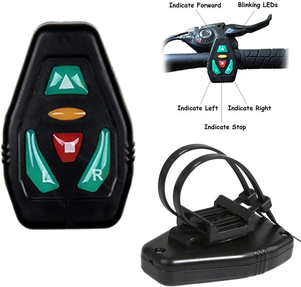 Signal de s/écurit/é pour Les Sports de Plein air Avertissement de t/él/écommande sans Fil LED Sac /à Dos l/éger 18L Sac /à Dos de v/élo avec Affichage de s/écurit/é LED