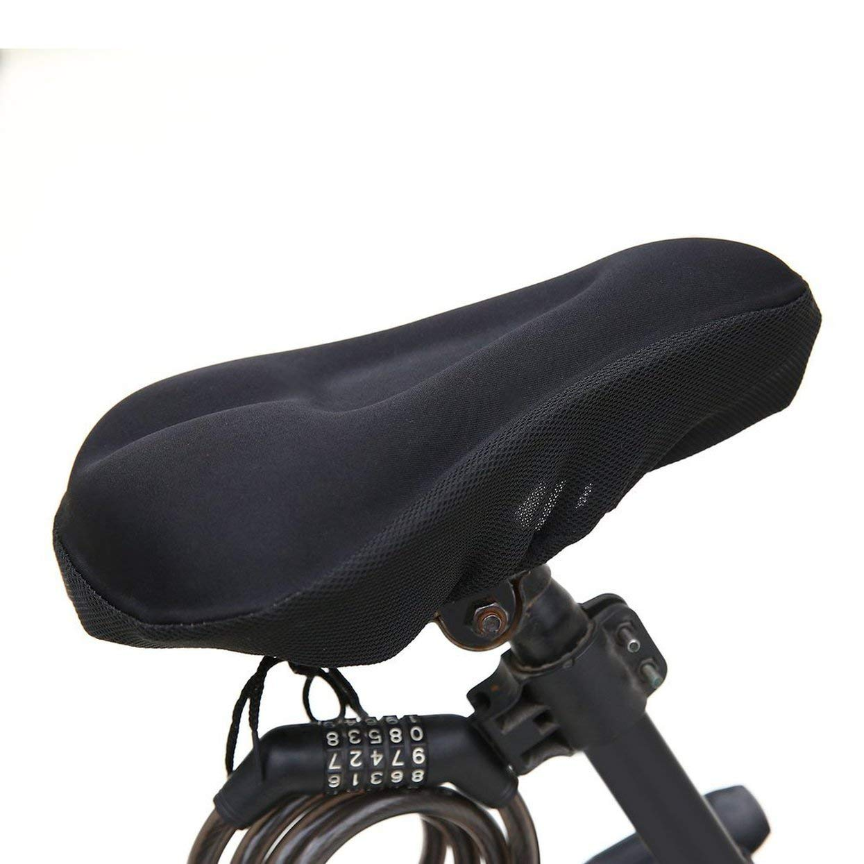 Tree-on-Life Black Durable Men 3D Bike Cycle Extra Comfort ...