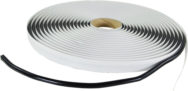 Cuerda de butilo, redonda, color negro (6 mm x 8 m),cumple norma ISO 9001 color negro (6mm x 8m) esnado