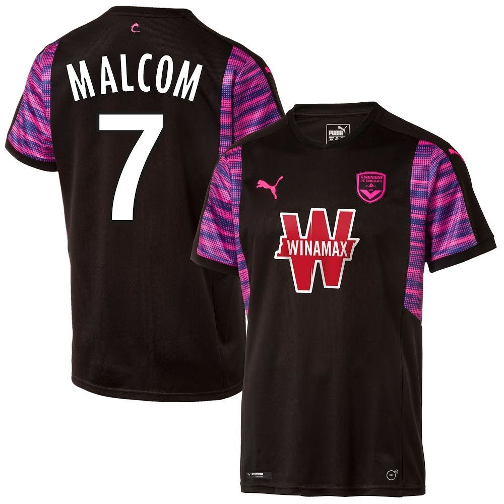 Bordeaux Away Trikot 2017 2018 + Malcom 7 (Fan Style)