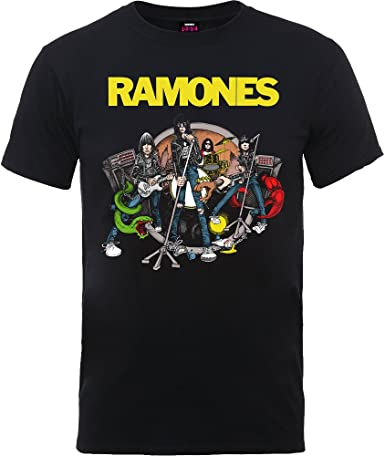 The Ramones Road to Ruin Punk Rock Oficial Camiseta para Hombre: Amazon.es: Ropa y accesorios