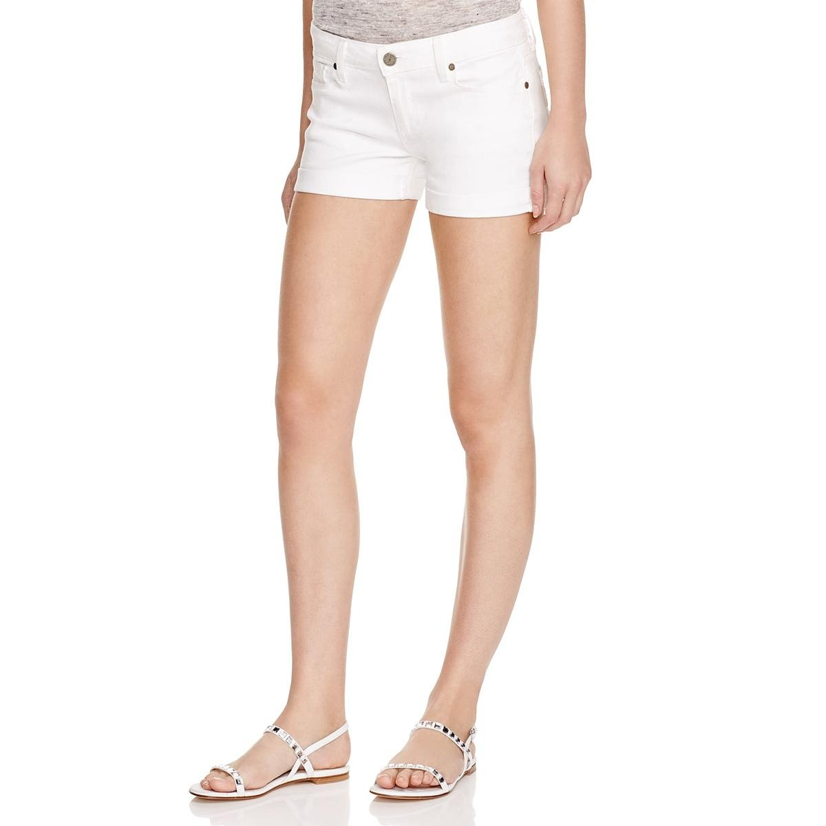 Paige Women's Jimmy Jimmy Short In Optic White, Optic White, 29
