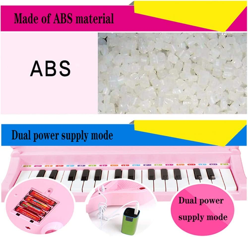Piano electrónico para niños Piano con micrófono niña Rompecabezas ...