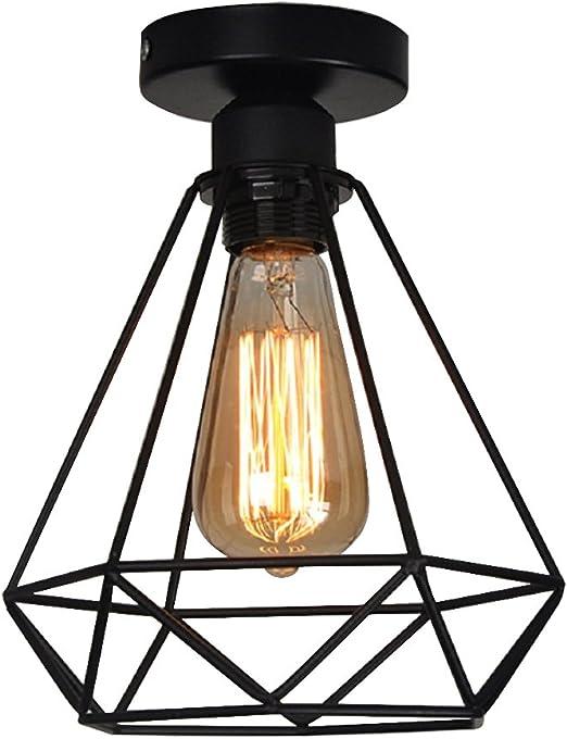 Lampara del Techo Vintage Hierro, Iluminación de techo,Lámparas ...