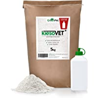 AniForte GreenPet KiesoVet 5kg Reine Kieselgur inkl. Stäubeflasche - Naturprodukt für Tiere