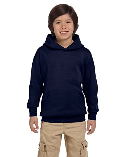 012b4379643 Amazon.com  Hanes P473 Hanes Youth ComfortBlend EcoSmart Pullover Hoodie   Sports   Outdoors