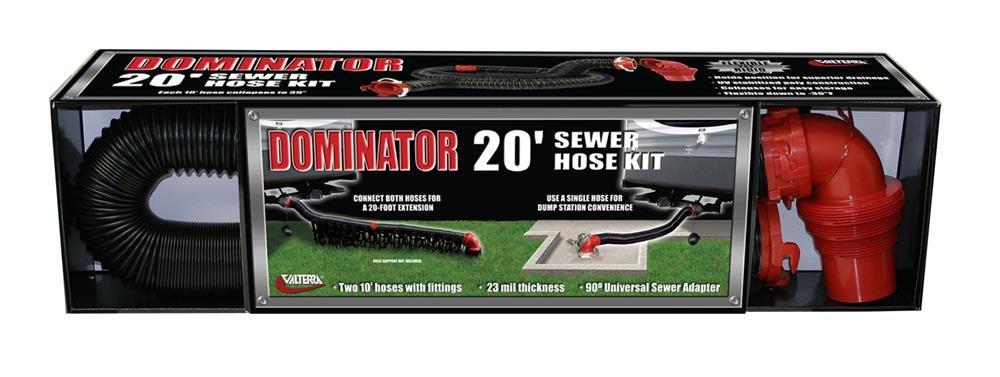 RV Trailer Camper Sanitation The Dominator 20' Extension Hose VALTERRA D04-0275