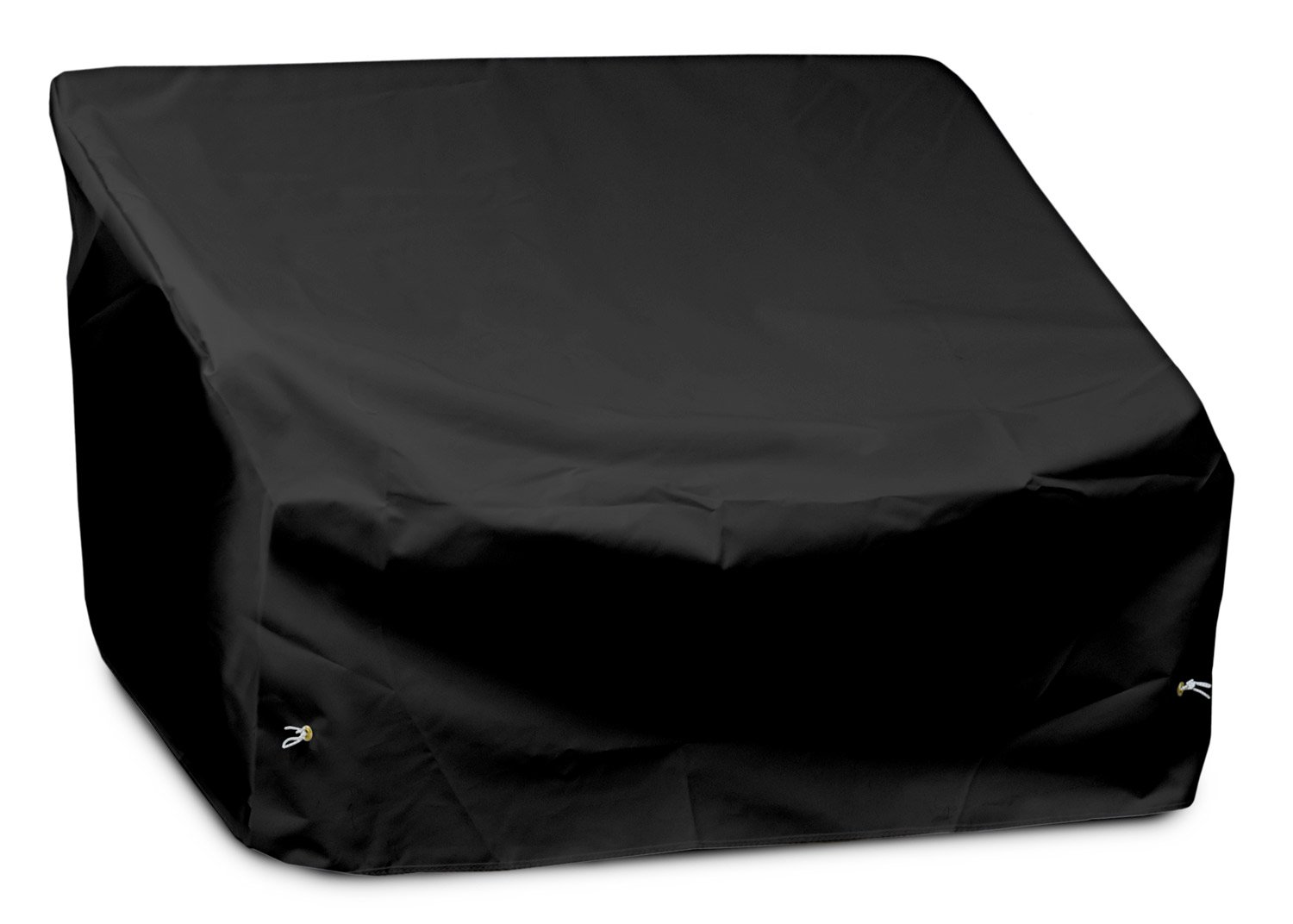 KoverRoos Weathermax 79147 Loveseat/Sofa Cover, 51-Inch Width by 33-Inch Diameter by 33-Inch Height, Black