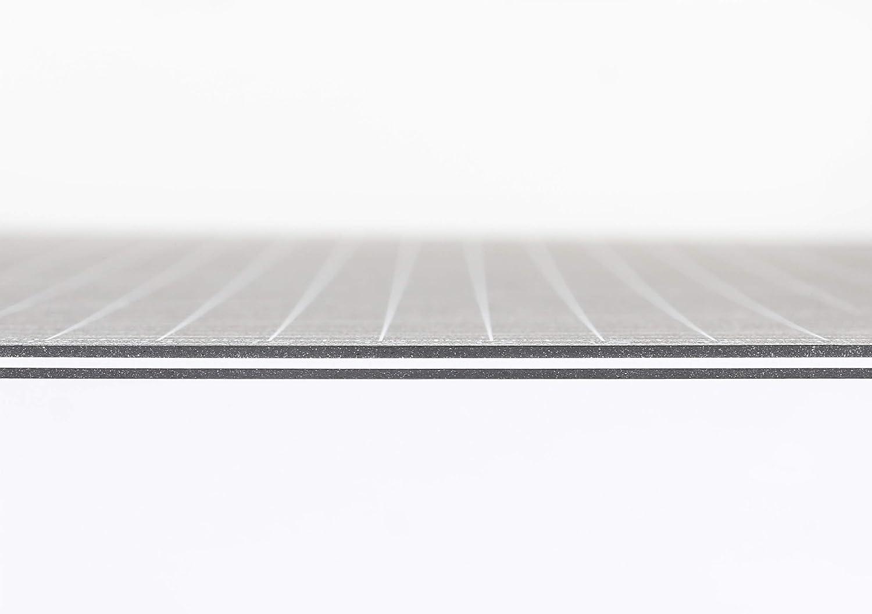 utilizzabile su entrambi i lati 60 x 90 cm Tappetino da taglio formato A1 Dahle Vantage autorigenerante con griglia colore: Nero
