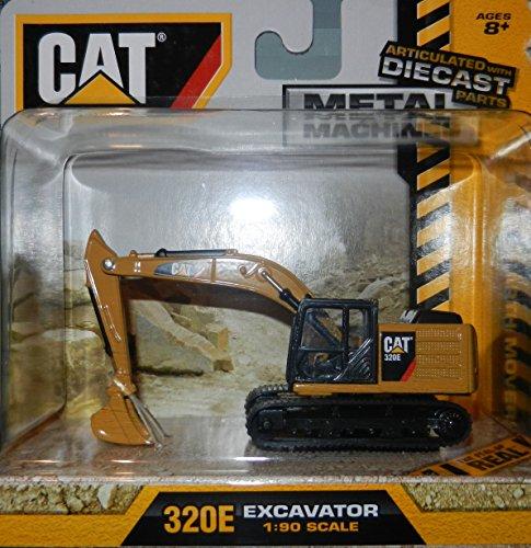 Caterpillar Excavator 1:90 Scale CAT39511 Cat 320E Diecast Metal Machines