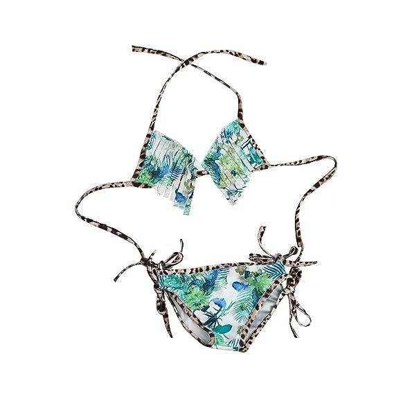 0fd104cb985e2 Iuhan 2PCS Kids Baby Tankini Bikini Print Set Swimwear Swimsuit Bathing  Beachwear: Amazon.in: Clothing & Accessories