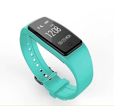 Monitor De Frecuencia Cardiaca Deportes Profundidad Reloj Inteligente Impermeable Llamada SMS Bluetooth Para Recordar Pulsera,